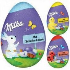 Ассорти пасхальных яиц Мilka, 94,5 г