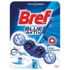 Блок для унитаза Вref blue color activ голубая вода, 50 г