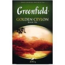 Чай Greenfield Golden Ceylonй листовой, 200 г