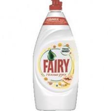 Cредство для посуды Fairy нежные руки ромашка; сочный лимон, 900 мл