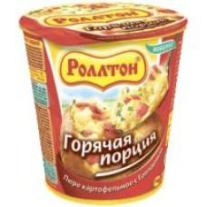 Картофельное пюре быстрого приготовления Роллтон говядина, 55 г