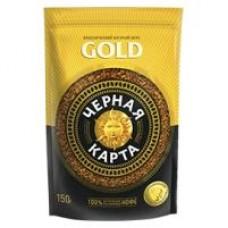 Кофе Черная карта Gold растворимый, 150 г