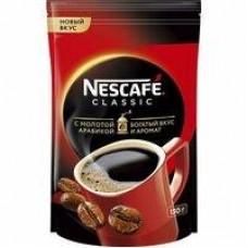 Кофе Nescafe Classic растворимый с добавлением молотого, 130 г