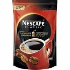 Кофе Nescafe Classic растворимый с добавлением молотого, 190 г