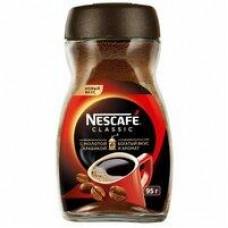 Кофе Nescafe Classic растворимый с добавлением молотого, 95 г