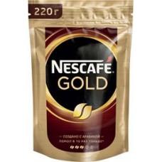 Кофе Nescafe Gold растворимый, 220 г
