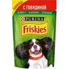 Корм для собак Friskies говядина; ягненок, 85 г