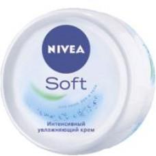 Крем для тела Nivea soft интенсивное увлажнение, 200 мл