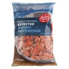 Креветки Первым делом варено-мороженые, 1 кг