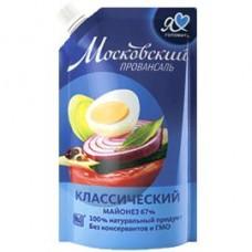 Майонез Московский провансаль классический 67%, 672 г/700 мл