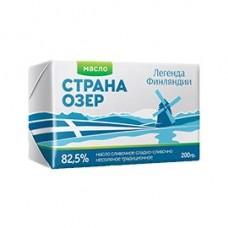 Масло Легенда Финляндии Страна озер сливочное 82,5%, 180 г