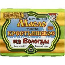 Масло сливочное крестьянское Из Вологды Верещагина 72,5%, 160 г