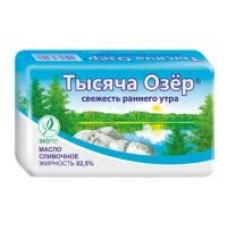 Масло сливочное Тысяча озёр 82,5%, 180 г