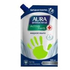 Мыло жидкое Aura антибактериальное ромашка, 500 мл