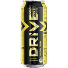 Напиток безалкогольный энергетический Drive Me Original; Nitro Boost; яблоко-карамель; ягодный, 0,449 л