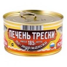 Печень трески По-Мурмански Вкусные консервы, 185 г
