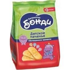Печенье Бегемотик Бонди обогощенное железом; с кальцием, 180/200 г