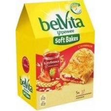 Печенье Belvita Soft Bakes злаки-какао; злаки-клубника, 250 г