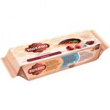 Печенье Яшкино сдобное вкус вишня, 137 г