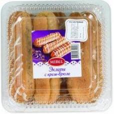 Пирожное Мirel эклеры с крем-брюле, 180 г