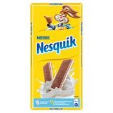 Шоколад Nestle Nesquik молочный, 100 г