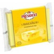 Сыр плавленый Мааздам President 40%, 150 г