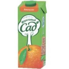 Сок Фруктовый сад яблоко; томат; персик-яблоко с мякотью; мультифрукт; апельсин с мякотью, 0,95 л