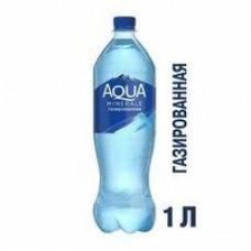 Вода Aqua Minerale газированная; негазированная; с магнием, 1 л