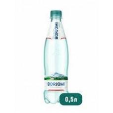 Вода минеральная Borjomi газированная, 0,5 л
