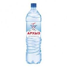 Вода минеральная природная Архыз Легенда гор негазированная, 1,5 л