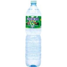 Вода минеральная Сенежская столовая газированная; негазированная, 1,5 л