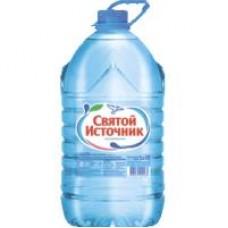 Вода питьевая Святой источник негазированная, 5 л
