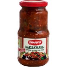 Баклажаны Пиканта печеные в томатном соусе, 520 г