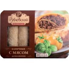 Блинчики Рублевский Домашние с мясом замороженные, 300 г