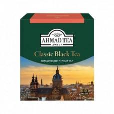 Чай Ahmad Tea классический черный в пакетиках, 100 шт