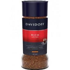 Кофе Davidoff Rich Aroma растворимый сублимированный в стеклянной банке, 100 г