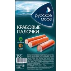 Крабовые палочки Русское море имитация охлажденные, 200 г