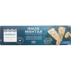МИНТАЙ ФИЛЕ ПОРЦ. 1КГ НОРДЕКО
