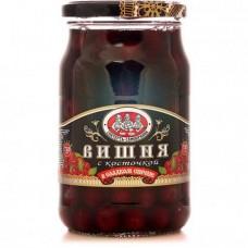 Вишня Скатерть-Самобранка в сладком сиропе с косточкой, 720 г