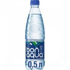 Вода Bonaqua очищенная газированная, 0,5 л