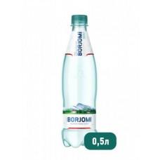 Вода Borjomi природная минеральная ПЭТ, 0,5 л