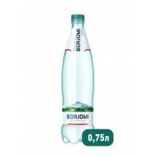 Вода Borjomi природная минеральная ПЭТ, 0,75 л
