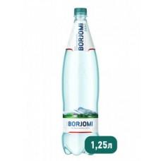 Вода Borjomi природная минеральная ПЭТ, 1,25 л
